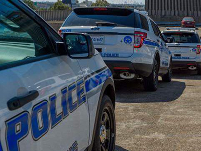 NOPD Patrol Cars, Advocate File Photo